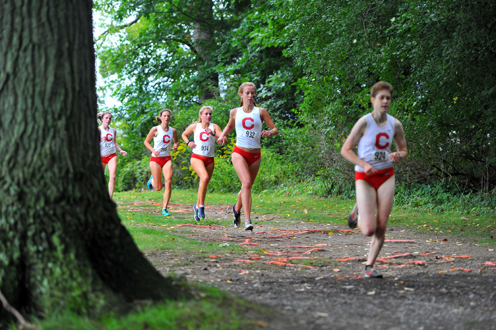 Four of the nation's top 20 teams traveled to Penn State to run in the Harry Groves Spiked Shoe Invitational. Cornell placed fourth in the event.