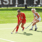 Junior Isabel Josephs was a key distributor for the Red against Vermont with a pair of assists.