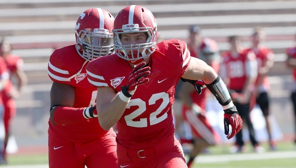 "Senior captain Jackson Weber is ""Mr. Do Everything"" for Cornell this season, according to head coach David Archer '05."