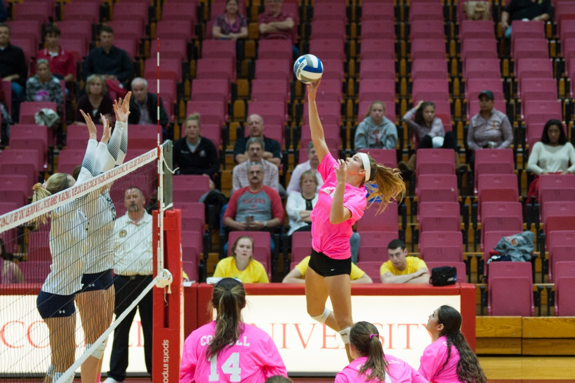 Despite dropping two straight Ivy matches, Cornell volleyball still feels like it is on the verge of success.