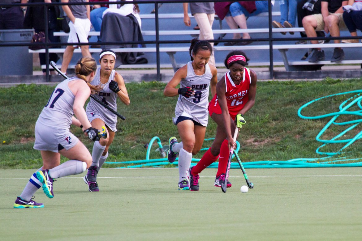 Krysten Mayers' goal in double overtime gave Cornell a thrilling 3-2 victory over Princeton.