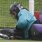 Junior goalkeeper Kelly Johnson plays for much more than her family and for her institution.