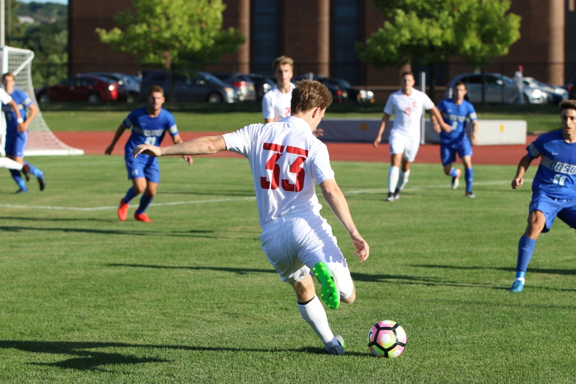 Head Coach John Smith has not had the easiest start in Ithaca with the win-loss column, but has changed the culture of Cornell men's soccer.