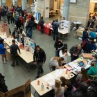 Cornellians enjoy fall food and interact with over 40 clubs and organizations at the first Fall Fest in Klarman Hall Saturday.