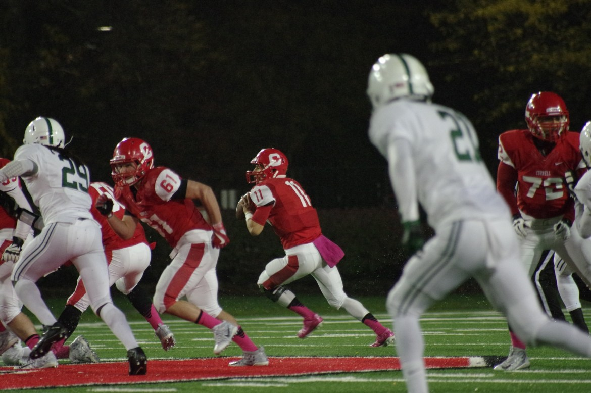 The Red had six players go down against Post University, but is unfazed by the setbacks.