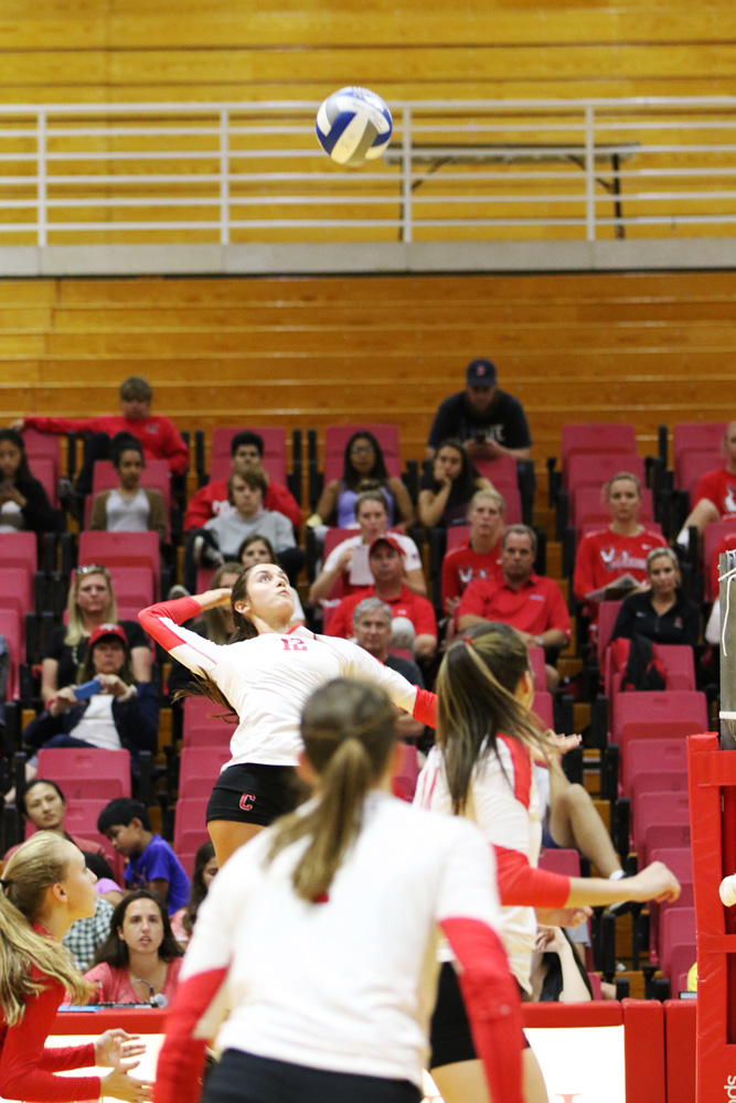Women's volleyball is seeking revenge against their downstate foe.
