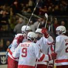 Noah Bauld's first career goal came at a pivotal point in the game for Cornell on the world's biggest stage.