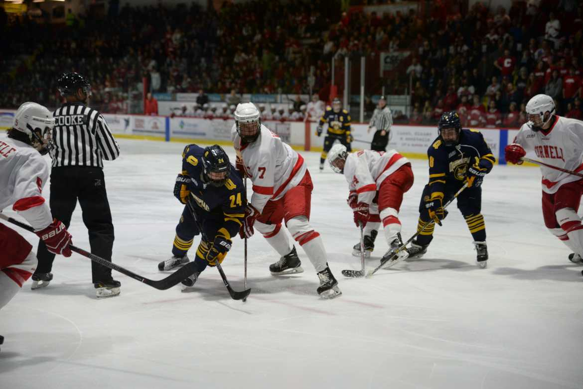 Quinnipiac is now second in the ECAC after defeating Cornell and Colgate.