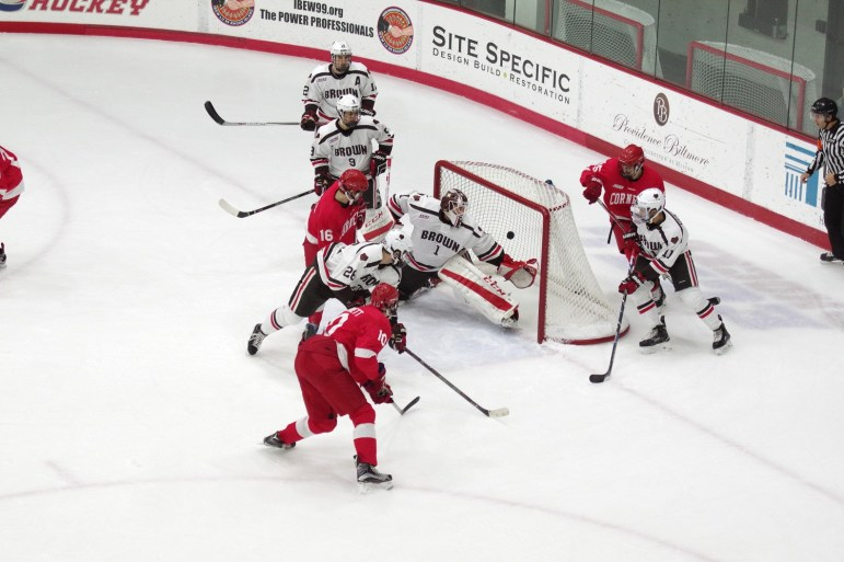 Filling the wishes of head coach Mike Schafer '86, sophomore forward Beau Starrett has kick-started Cornell's secondary scoring with three points already this season.