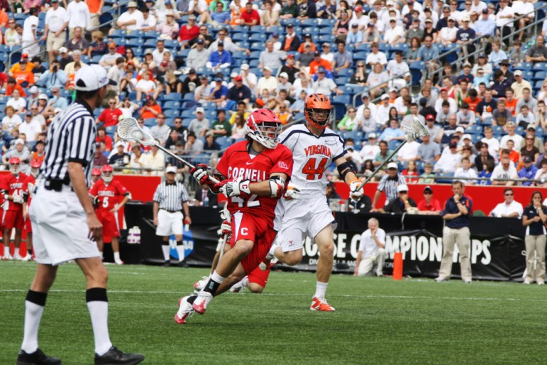 Seibald and the Cornell men's lacrosse team played in the 2009 NCAA Championship game.