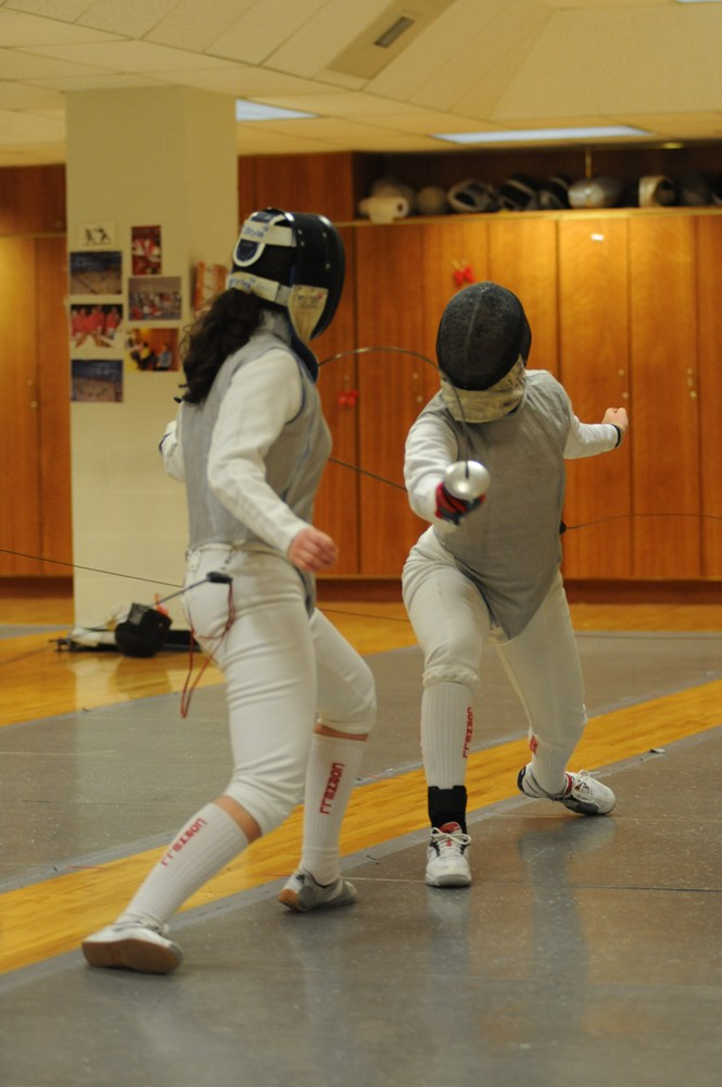 Although the Red lost every match over the weekend, the Epee squad picked up wins over Penn and Notre Dame.