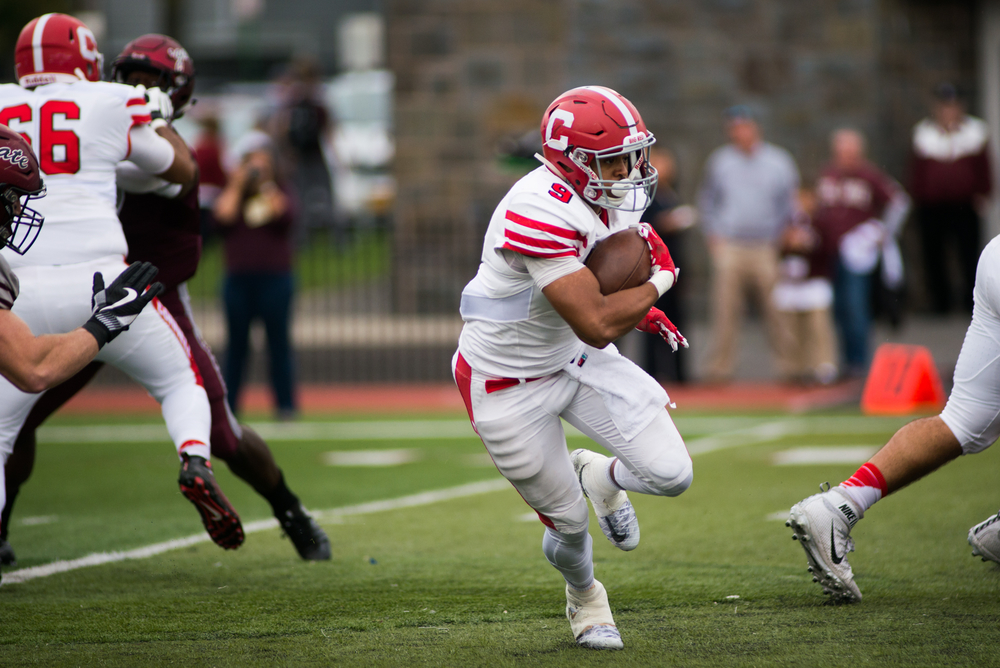 Chris Walker's career day powered Cornell to a win over Columbia in the annual Empire State Bowl.