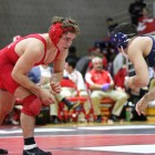 Brian Realbuto, a two-time All-American, is listed as questionable for Saturday's dual meet against Buffalo.