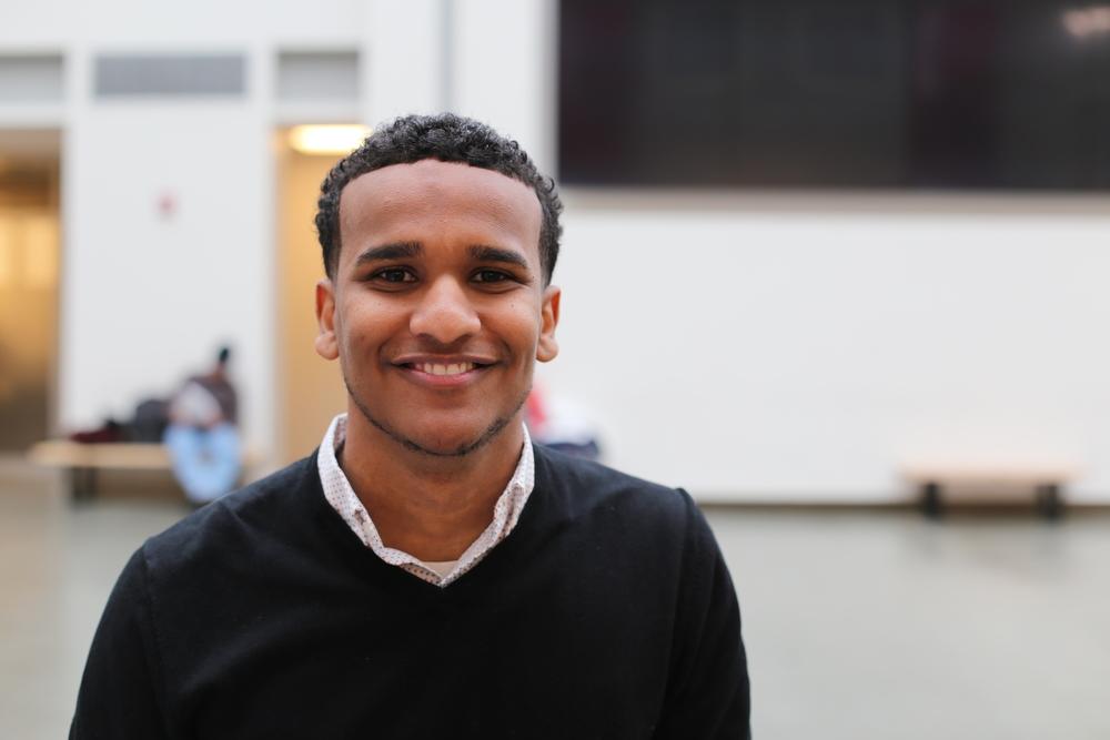 Ahmed Ahmed '17 was chosen as a 2017 Rhodes Scholar.