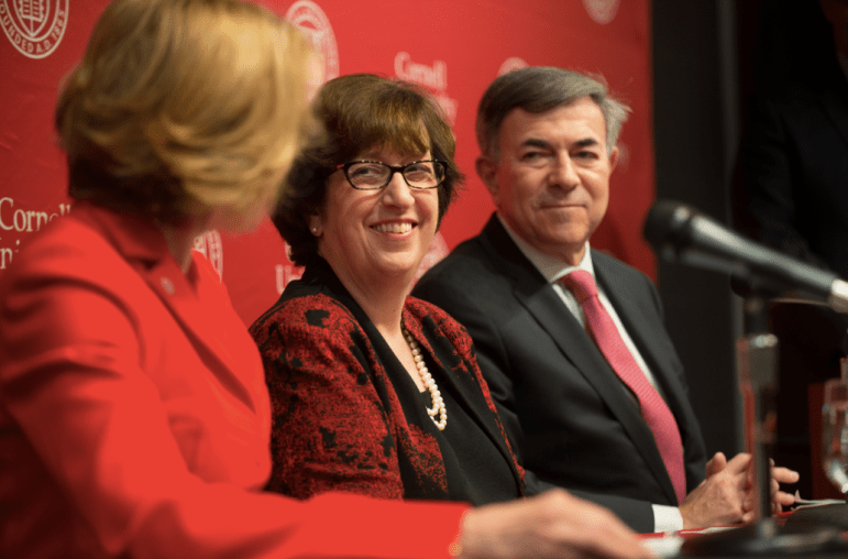 Marthe E. Pollack, provost at the University of Michigan, was named Cornell's 14th president.