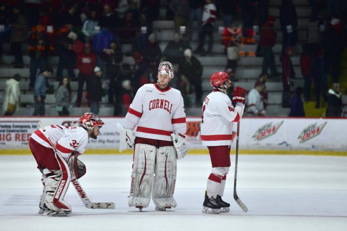 Tonight's loss was only Cornell's second in its last 13 tries.