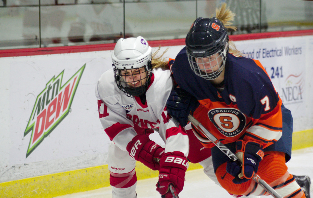 With a win over Clarkson, the Cornell women extended their unbeaten streak to six games, but was snapped the very next day at St. Lawrence.