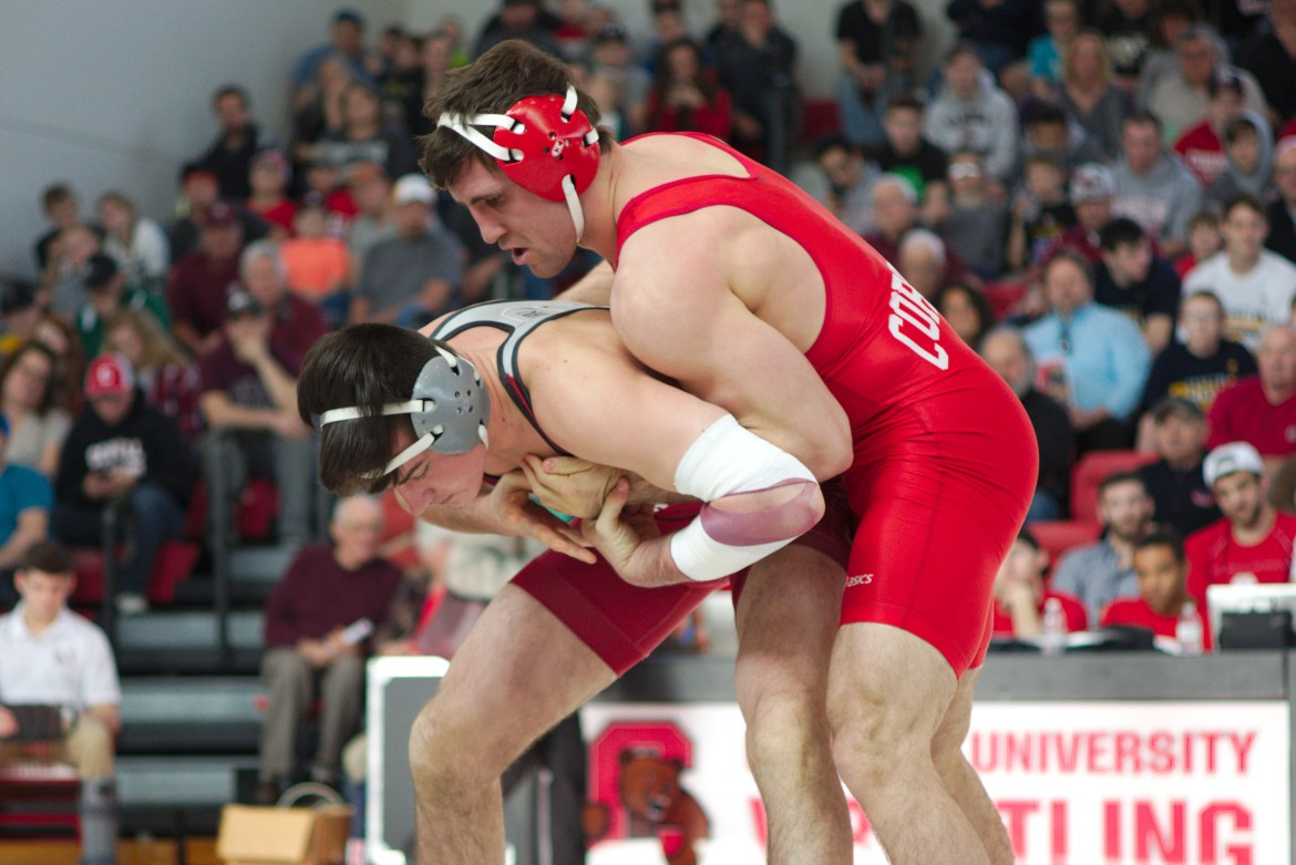 Gabe Dean never intended to become a wrestler. Now, he's one of the best in the country.