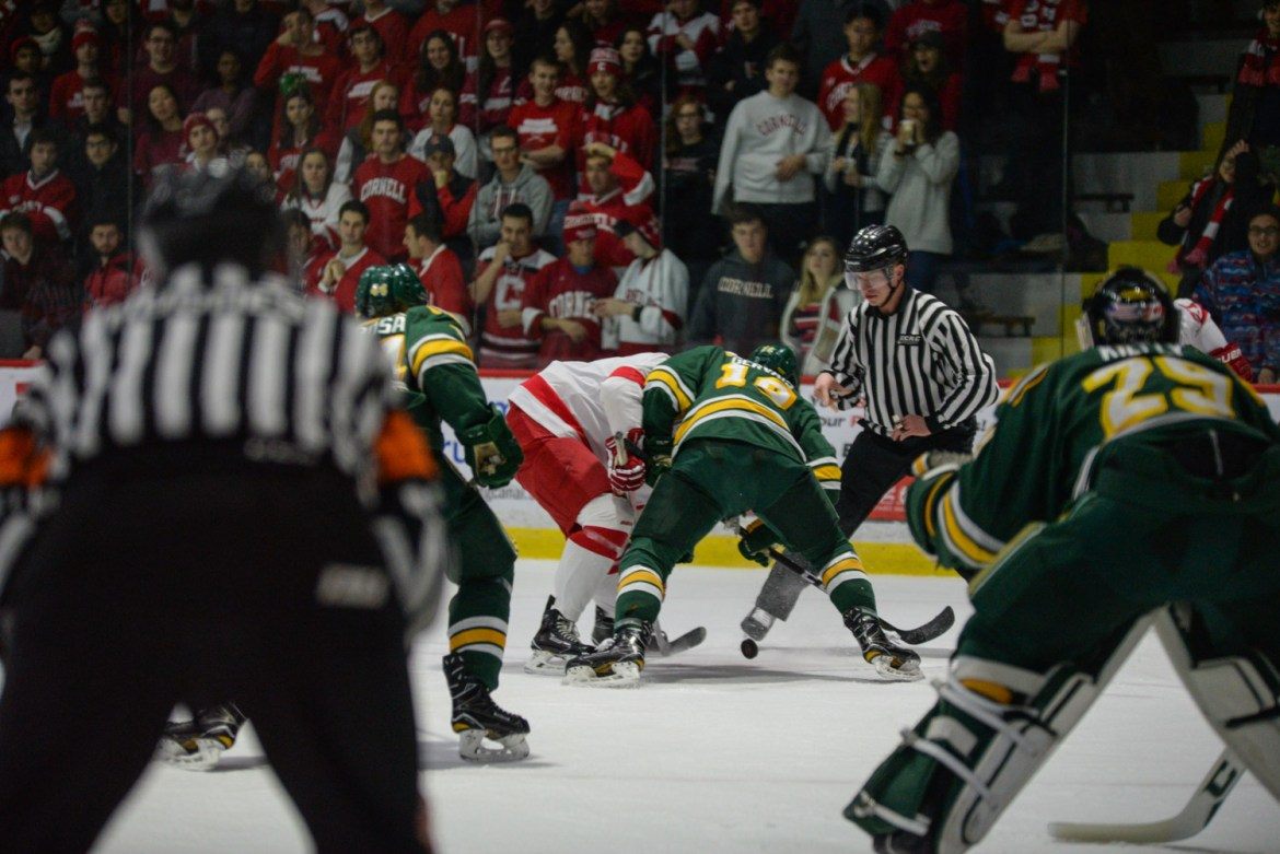 Cornell has not faced off against any of the teams in their NCAAs region.