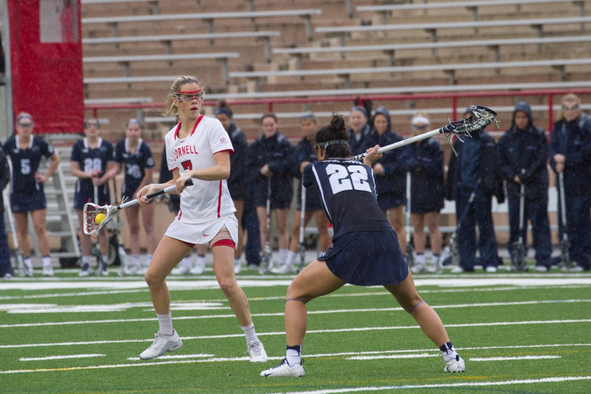 Cornell touts dominant victories over Columbia, Colgate and Penn.