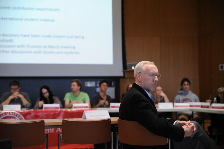 Provost Michael Kotlikoff.