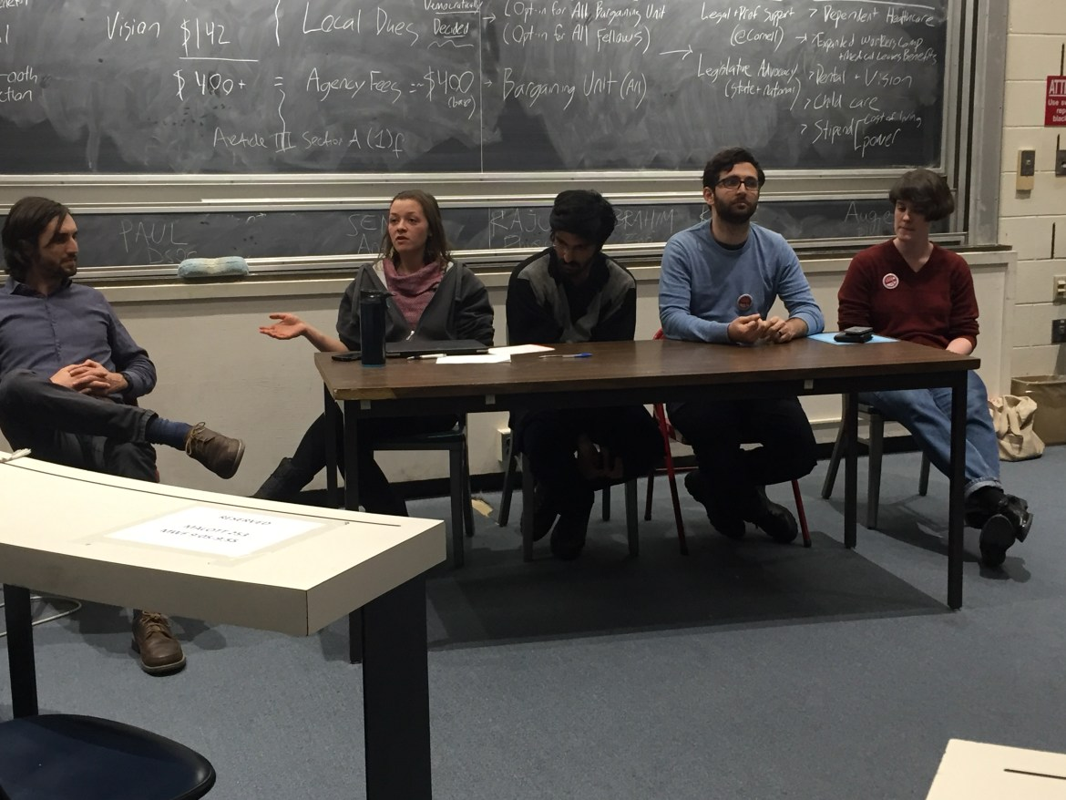 CGSU held an information session for graduate students just days before they head to the polls to vote for the unionization recognition election.