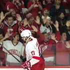 Anthony Angello is leaving Cornell after his junior season, signing with the Pittsburgh Penguins.