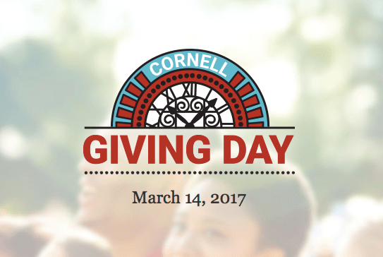 Cornell Giving Day gathered donations from the Cornell community to give to various campus organizations on Tuesday.