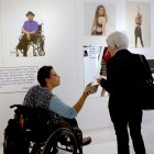 The exhibit sought to explore fashion through the lens of individuals with disabilities.