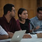 Students presented a resolution on Thursday that would look into hiring its first Hindu and Muslim Chaplains. Omar Din '19, human ecology representative-elect, Samir Durvasula '17, president of Cornell Hindu Students Council, Nabiha Qudsi '18, president of the Committee of the Advancement of Muslim Life and Saim Chaudhary '17, president of Islamic Alliance for Justice, presented the resolution.