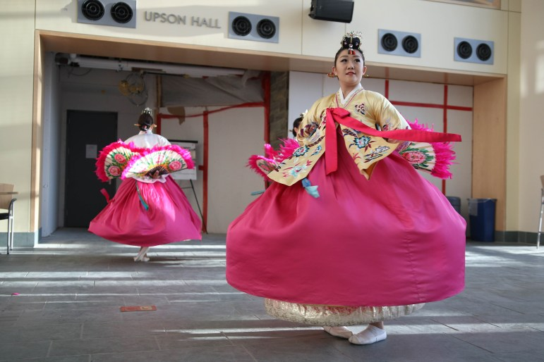 Korean dance group Hanchum performs at AIESEC Global Village on 14th April 2017