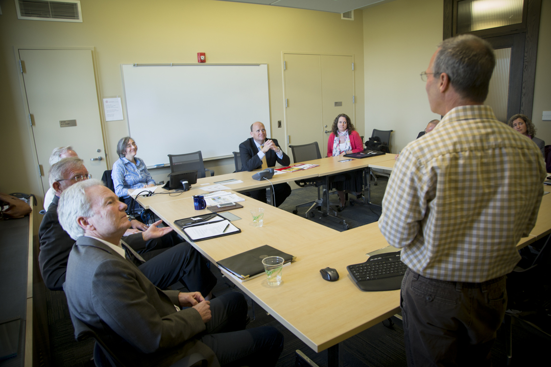 Rep. Tom Reed (R-NY) met with a group of Cornell professors and researchers on Monday.
