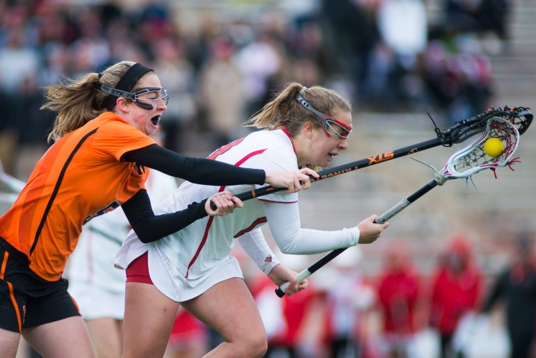 Senior attack Catherine Ellis had two goals on day, and five in the tournament.