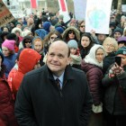 Rep. Tom Reed (R-NY) faced intense local opposition the last time Republicans attempted to repeal Obamacare, March 11th, 2017.