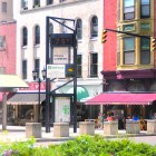 The recently renovated Ithaca Commons offers dozens of stores and restaurants, and hosts events like Applefest and the Ithaca Festival.