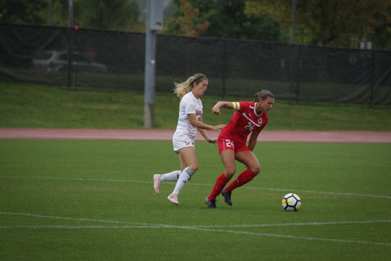 Farber has had to battle injuries through her Cornell career, but is excited to lead as a senior captain this year.