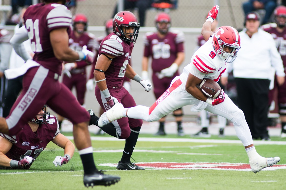 Last season, Cornell used a huge second half comeback to upset the Raiders on the road.