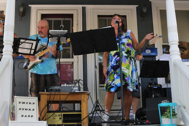 The festival featured an eclectic mix of performers that showcased Ithaca's music talent.