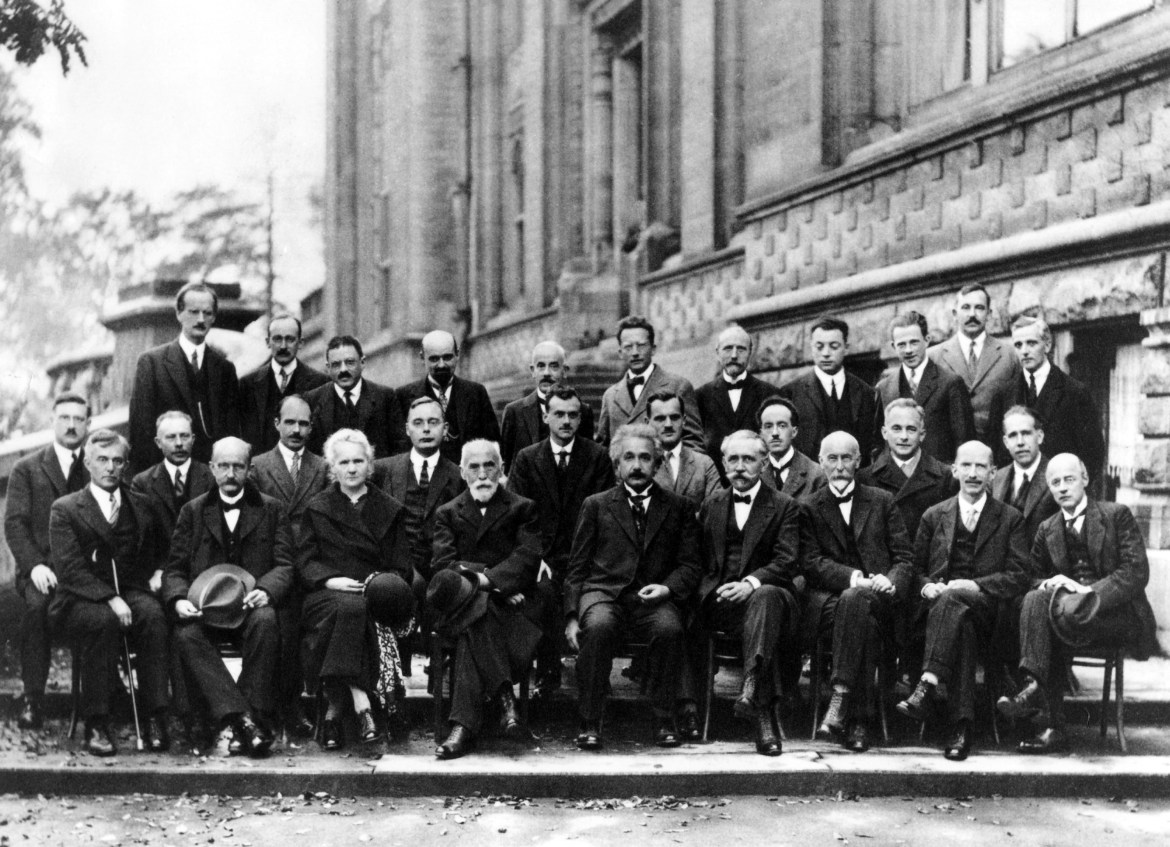 Symbolic of the gender inequality in STEM, 1927's Solvay Conference on Physics featured only one woman, Marie Curie (bottom row; third from left)