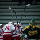 Cornell will open its 2017-18 season the same way it closed 2016-17 -- against Clarkson and St. Lawrence.