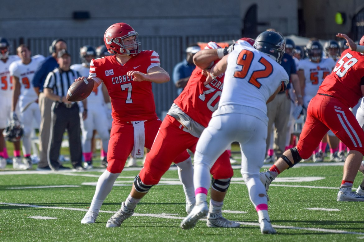 Cornell will face Brown on homecoming this year.