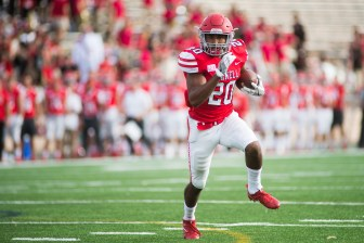 Luckily for Cornell, sophomore Harold Coles (pictured) is having a productive season and senior Jack Gellatly is having a career year.