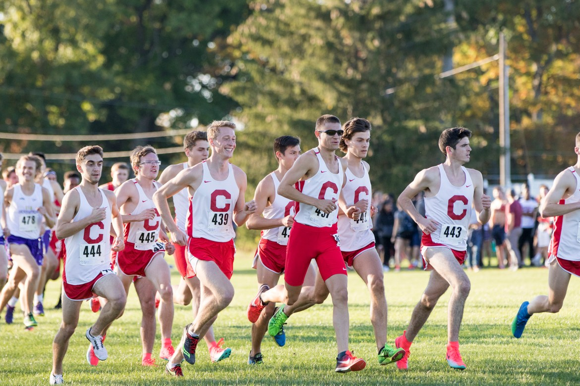 The men finished in fourth place at Penn State.