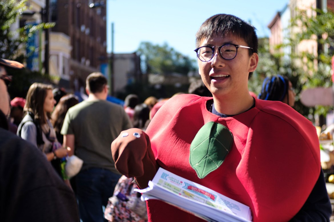 The 35th annual Apple Harvest Festival brought together the Ithaca community to enjoy their favorite apple-themed products.
