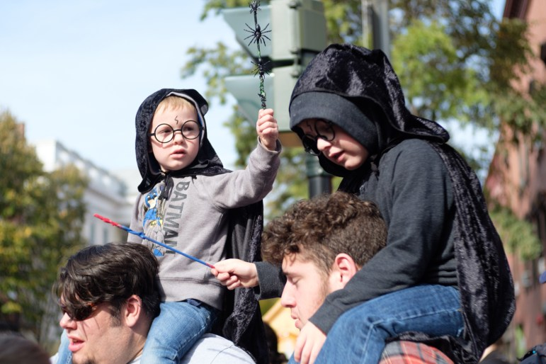 Kids of all ages revelled in the celebration of their favorite wizarding series.