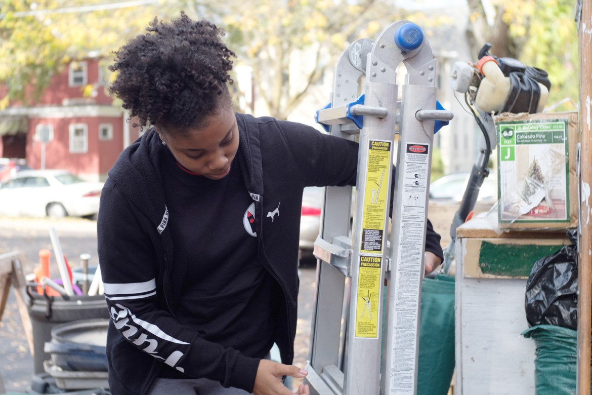 Hundreds of students set aside coursework and the stress of Cornell life to volunteer in Ithaca for Into the Streets.