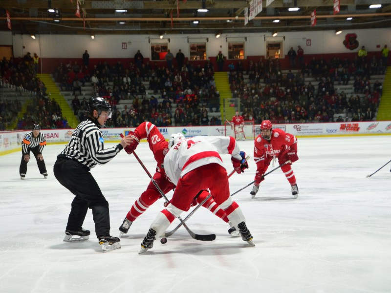 Cornell hosted Miami at Lynah last season and swept the two-game series.
