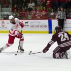 Matt Nuttle's goal against UAH was a prime example of defensemen joining the rush,