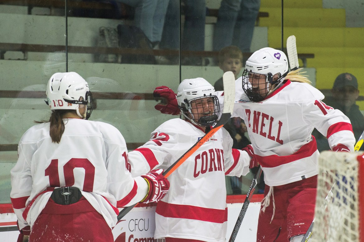 Cornell has only one road loss on the season.