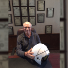 Robert Bayer '58 is president of Baytech Products, which has won a grant from the NFL to design a new football helmet to fight concussions.